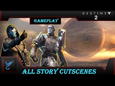 Destiny 2: All Story Cut-scenes (SPOILERS) |Secret after credit ending|