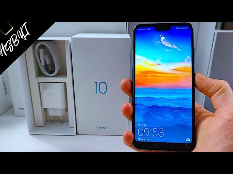 Honor 10 - UNBOXING & First Impressions REVIEW!