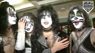 Hilarious KISS Reunion Tour Interview 1996