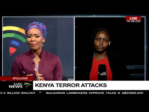 Fifty people remain unaccounted following Kenya attacks