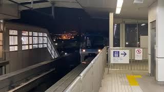 【東京モノレール】1000系1001編成ラストラン @天王洲アイル駅