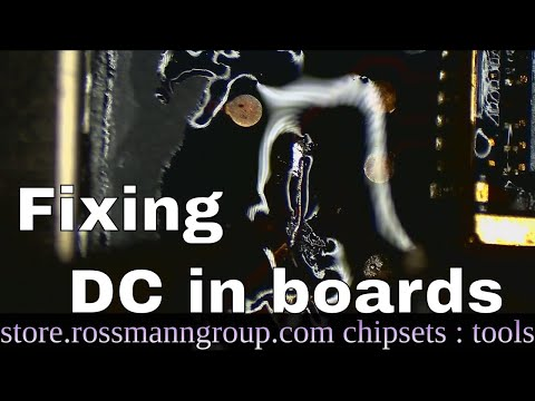 Repairing a Macbook Air DC in board at component level!