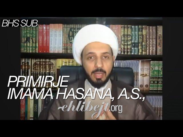 Primirje Imama Hasana, a.s., – Šejh Ahmed Selman