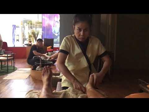 Foot massage in Phuket old town, Phuket island Kim massage