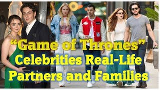 """12 """"Game of Thrones"""" Characters With Their Real-Life Partners and Families"""