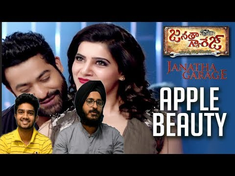 "Apple Beauty Full Video Song Reaction || ""Janatha Garage"" || Jr. NTR, Samanth || DSP Hit Songs"