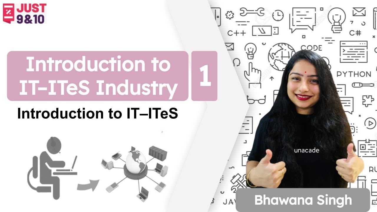 Download Introduction to IT–ITeS Industry - 1 | CBSE Class 9 | Computer Science | Just 9 & 10 | Bhawana Singh
