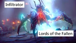 Lords of the Fallen Spider Boss - Infiltrator. Rogue gameplay
