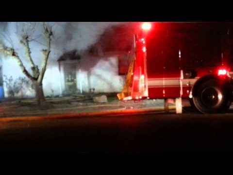 House fire in caruthers ca