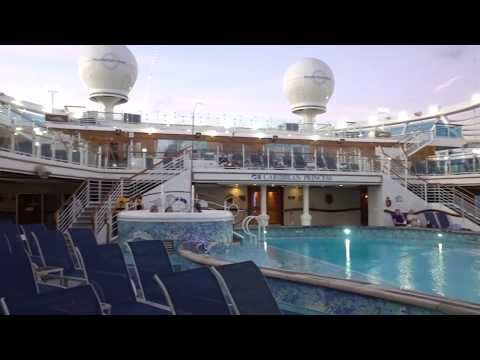 Tour Of The Caribbean Princess Cruise Ship