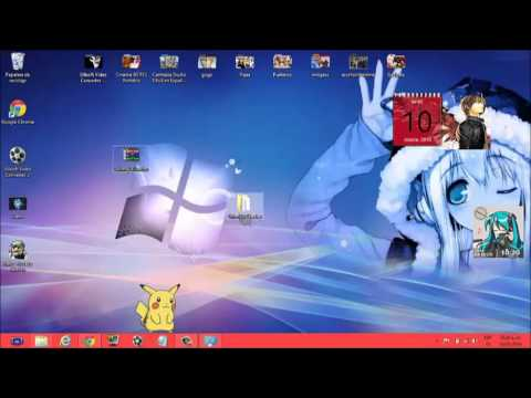 Como descargar shimeji de pikachu (mascota para PC)