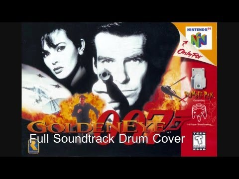 Goldeneye Full Soundtrack Drum Cover (N64)