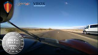 Car Breaks World Speed Record - 284 MPH