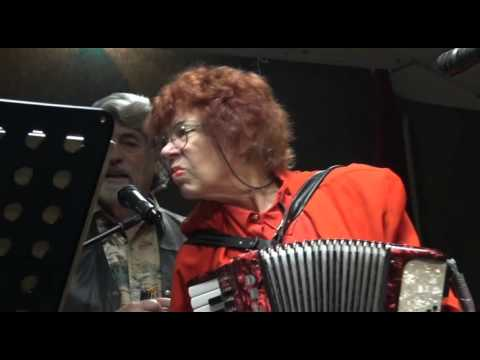ACCORDION LADY SAYS DON'T MESS WITH HER TOOT TOOT !