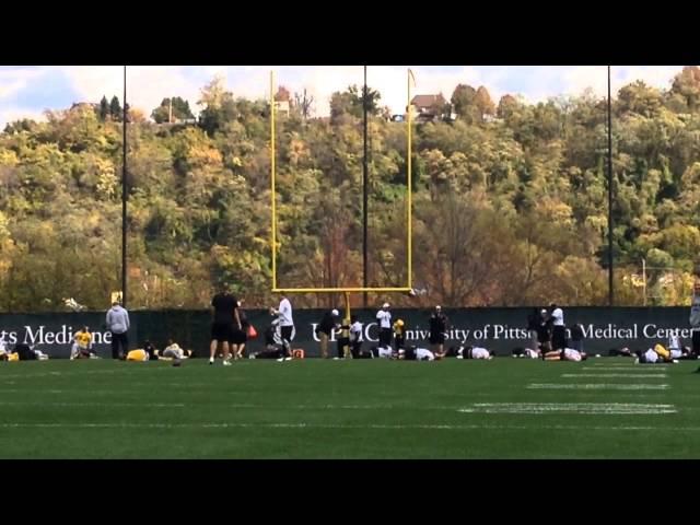 Ben Roethlisberger Begins Pittsburgh Steelers Practice, Throws Rugby Ball