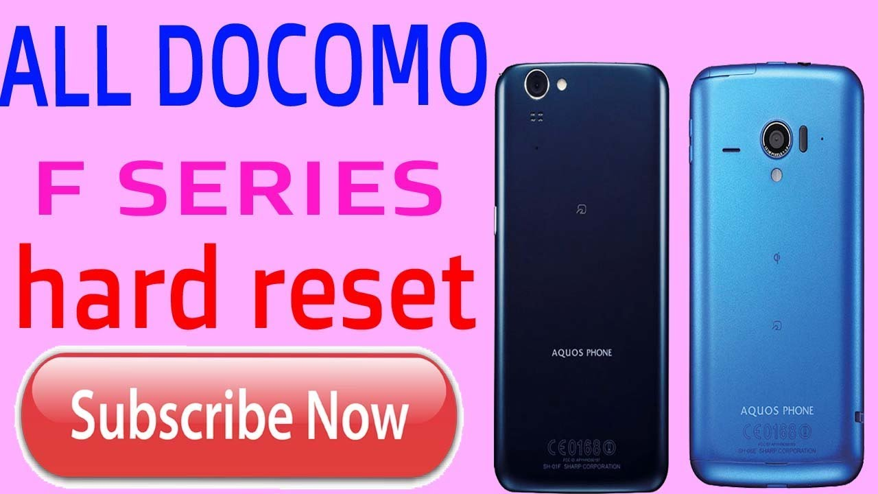 DOCOMO SH 01F And ALL DOCOMO F SERIES HARD RESET - Видео онлайн