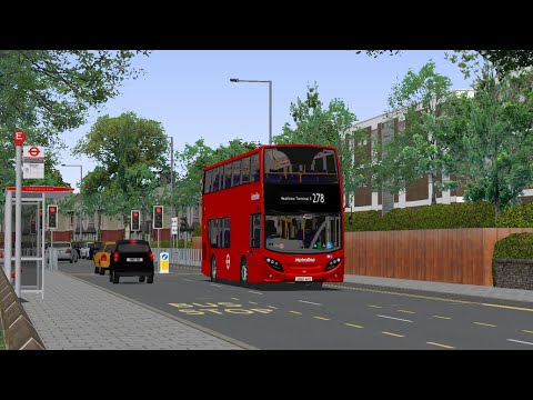 OMSI 2 London Buses Route 278 Then & Now (Pt1) - Most Popular Videos