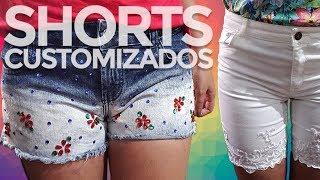 Customização De Shorts Para Verão