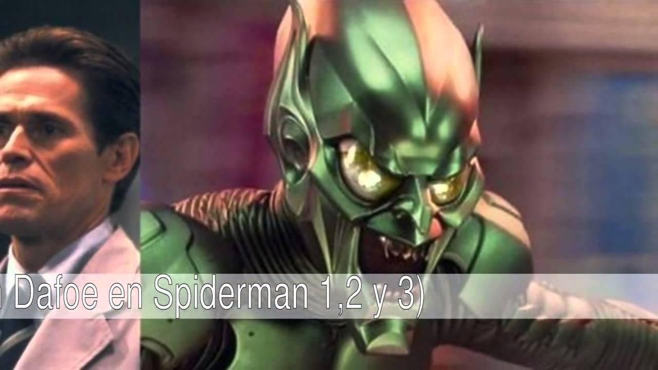 Los mejores villanos en las pelculas de Spiderman  YouTube