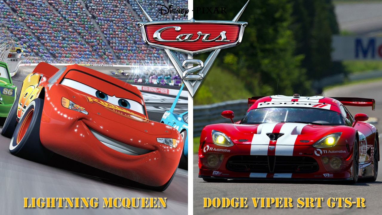 Cars 2 Characters In Real Life Youtube