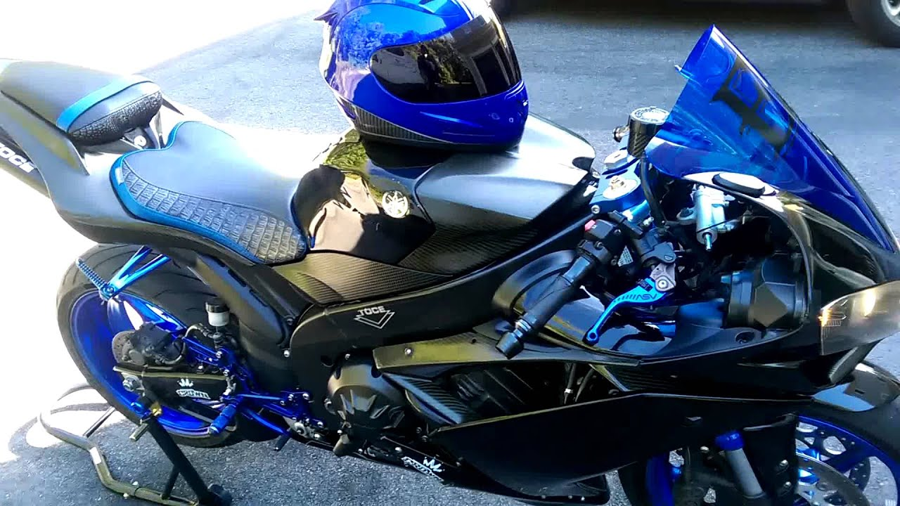 2008 yamaha r1 with toce exhaust cold idle youtube for Toce exhaust yamaha r1