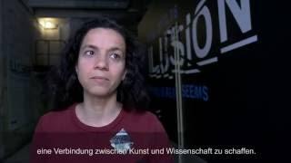 """Filmproduktion Ausstellung """"Illusion"""" im Kunstkraftwerk Leipzig"""