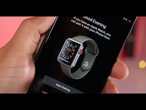 71951385f Apple watch series 3 setup with iPhone x quick review اقتران ساعه ابل مع  ايفون اكس. Ali Tech