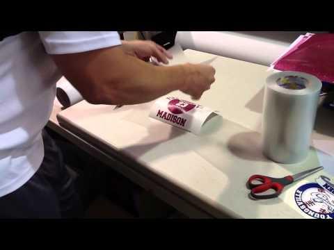 Part 2 How To Make A Custom Vinyl Car Window Decal