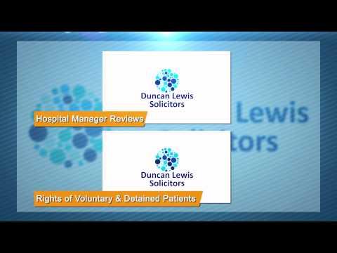 Duncan Lewis Solicitors - Mental Health