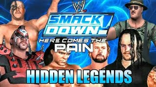 WWE SmackDown Here Comes the Pain - Hidden Characters