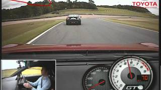 Toyota GT86 on track