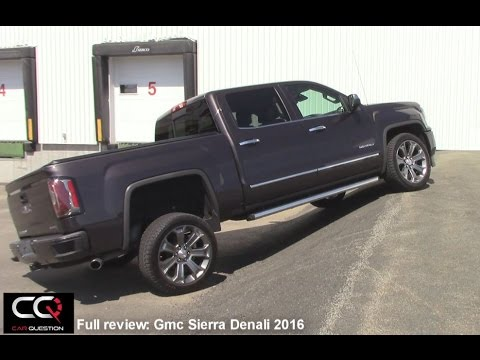 2016 Gmc Sierra Denali - Most Complete review EVER!