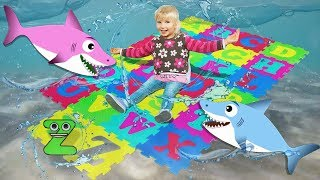 Play and Learn ABC Alphabet Song for Kids with BootikaTV and Liitle Sharks