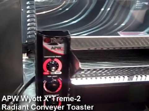 APW Wyott X*Treme 2 Radiant Conveyer Toaster