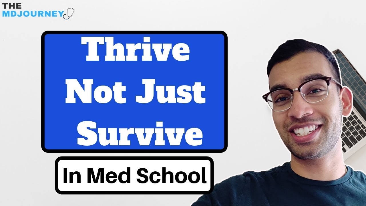 How To Survive Medical School is Not Good Enough (3 Tips On