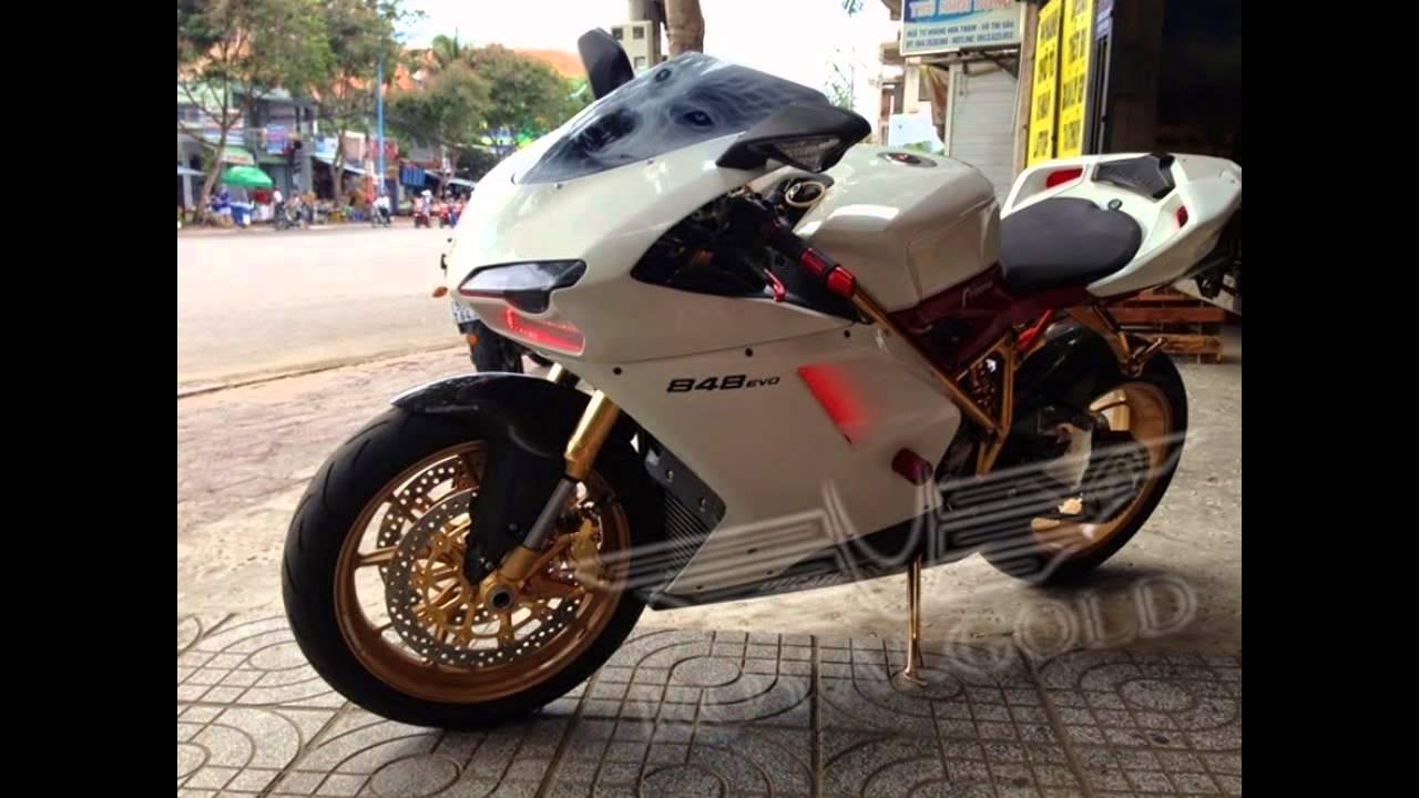 Royal Gold 24 Karat Ducati 848 Evo Altin Kaplama Ducati Motor
