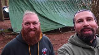 Wild Camping With 4x4s January 2018
