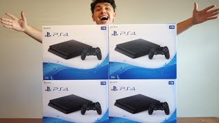 BIGGEST PS4 GIVEAWAY! (4 MILLION SUBSCRIBERS)