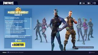 Fortnite opening of the fighting pass