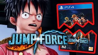 JUMP FORCE is a mess....