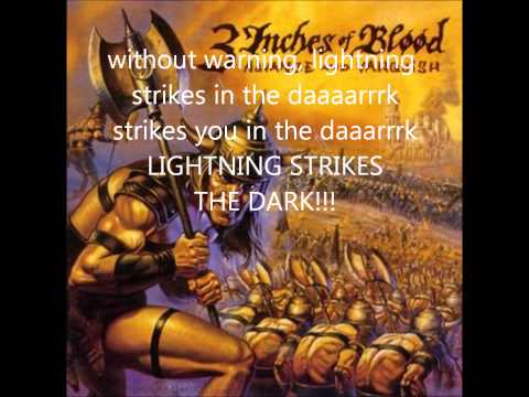 3 inches of blood Deadly sinners (lyrics)