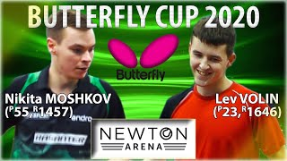 Кубок Butterfly 2020 Мошков - Волин