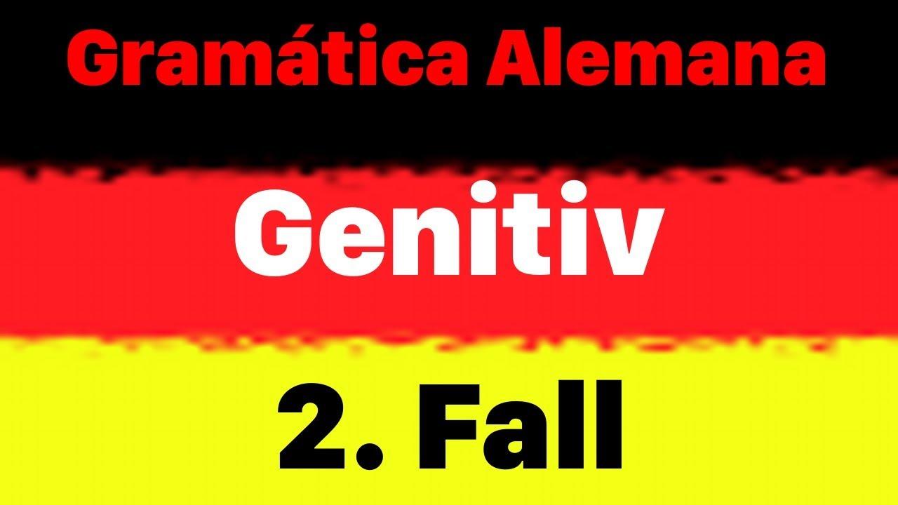 Gramática Alemana 100 Frases Ejemplos De Genitivo Genitiv Aprender Alemán Los Casos