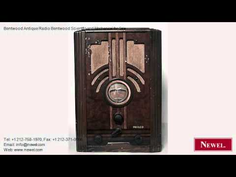 Bentwood Antique Radio Bentwood Scientific and Mechanical