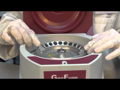 Using The Microcentrifuge