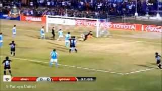 Javier Patiño 11Goal Thai Premier League 2013 Leg1