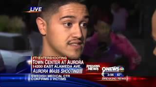 Aurora Theater Shooting - Overnight Breaking News Live Shot