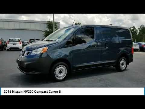 2016 Nissan NV200 Compact Cargo DeLand Nissan P9260A