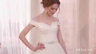 Свадебное платье 2016 года от VESILNA™ модель 3064