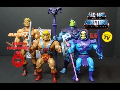 Masters of the Universe ~ VINTAGE-STYLE SKELETOR ACTION FIGURE ~ MOTU SUPER 7